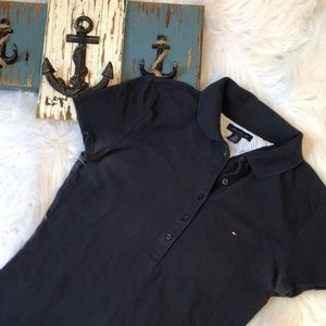 Tommy Hilfiger Tops - Tommy Hilfiger Navy Fitted